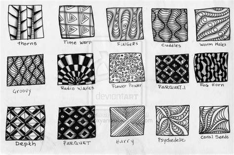 pattern of zentangle zentangles patterns
