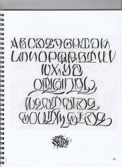 cursive fonts for tattoos big sleep gangster lettering lettering