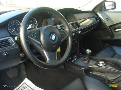 2005 Bmw 525i Interior by Black Interior 2005 Bmw 5 Series 545i Sedan Photo 4100750