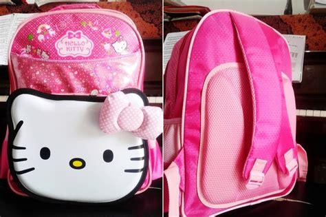 Tas Travel Minnie Mouse Ukuran Kecil tas sekolah anak perempuan murah tk sd grosir tas travel bag anak karakter hello murah