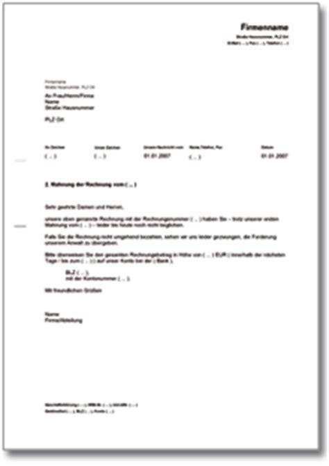 Mahnung Muster Gratis 2 Mahnung Mit Anwaltsdrohung Muster Vorlage Zum