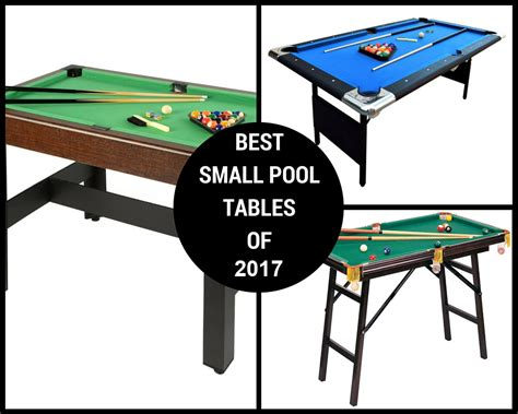 best table 2017 best small pool tables of 2017