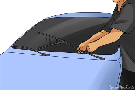 boat windshield wiper blades how to fix squeaky windshield wiper blades yourmechanic