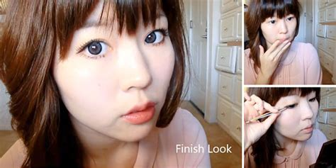 tutorial dandan ala barbie cara makeup mata boneka barbie mugeek vidalondon