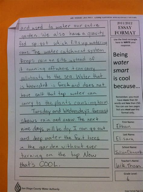 Water Conservation Essay Exles by May 2012 What S Not To Like