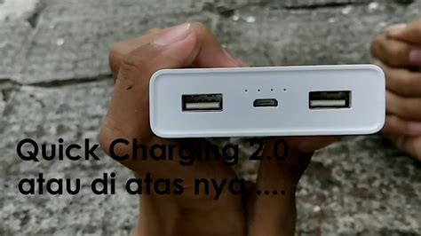 Xiaomi Powerbank Generasi 2 unboxing powerbank xiaomi 20000mah generasi 1 indonesia