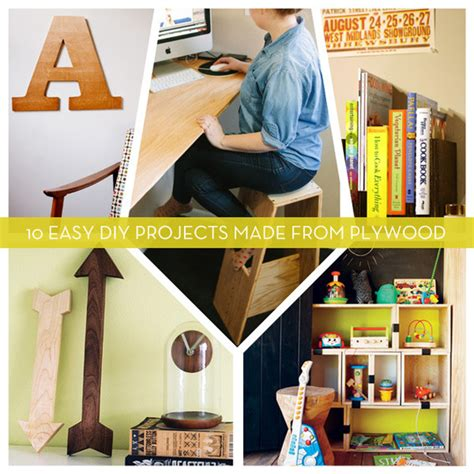 roundup  easy diy projects   plywood curbly