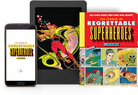 the league of regrettable superheroes half baked heroes from comic book history comic bits the league of regrettable superheroes