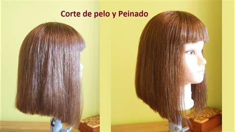pasos para corte de pelo corte de pelo bob largo paso a paso corte de pelo bob
