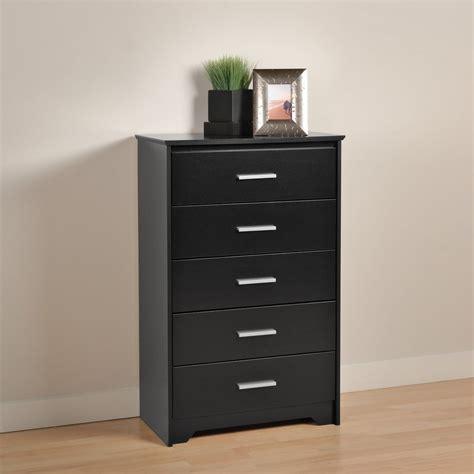 shop prepac furniture coal harbor black standard chest at