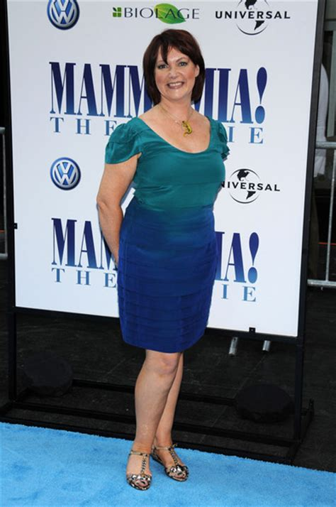 katherine johnson personality catherine johnson in premiere of quot mamma mia quot outside