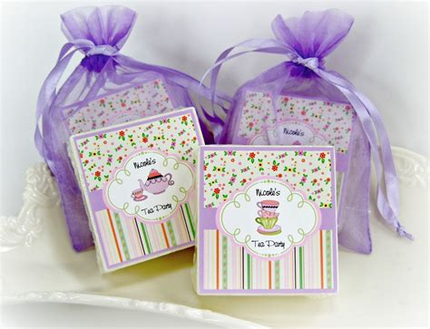 Tea Party Giveaways - tea party favors birthday party favors baby shower favors