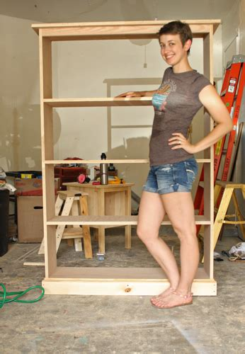 building a simple bookcase build bookcase plans build this simple pine bookshelf with