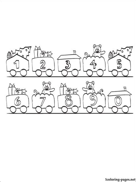 coloring pages for numbers 1 10 numbers 1 10 coloring page coloring pages
