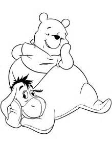 eor winni pooh colouring pages