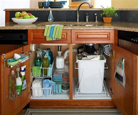 under kitchen sink storage ideas kitchen cabinet organizing home organization pinterest