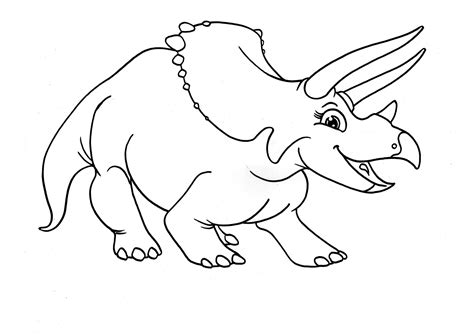Free Printable Triceratops Coloring Pages For Kids Printable Dinosaur Coloring Pages