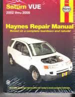 auto repair manual free download 2009 saturn vue user handbook 2002 2009 saturn vue haynes repair manual