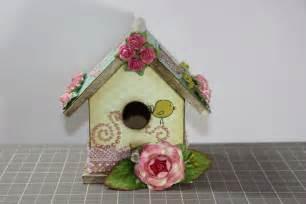 1amscrapper altered shabby chic bird house
