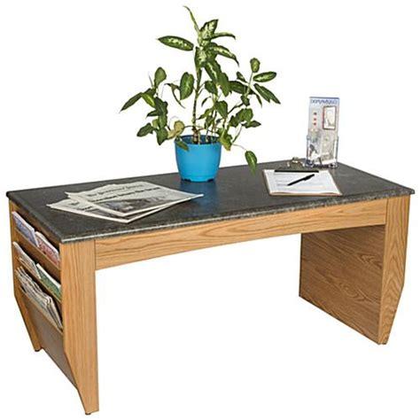 Magazine Coffee Table Medium Oak Magazine Coffee Table Wood Base With Laminate Top