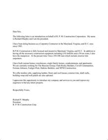 Introduction Letter For Trading Company Profile Company Introduction Letter Format 10 Free Sles Exles Formats