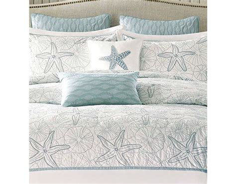 starfish bedding beach themed bedding ideas cottage bungalow