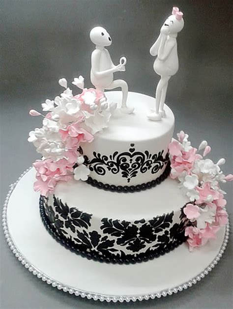 Engagement Cake Images by 7 Adorable Engagement Cake Designs For The Winsome