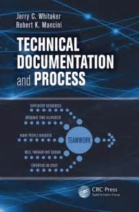 Technical Process Documentation Template by Technical Documentation And Process Crc Press Book
