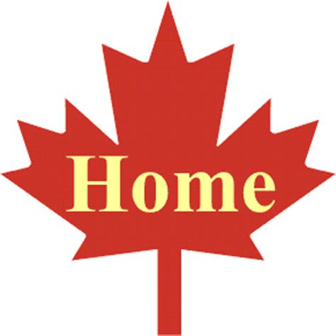 Maple Leaf At Home by Construction
