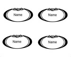 free place cards template sle place card template 6 free documents in