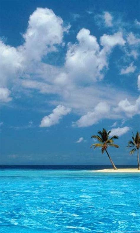 ocean sky palm boat tropical windows xp islands island hd