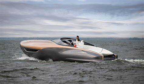 lexus boat marquis yachts toyota and lexus partner on concept boat
