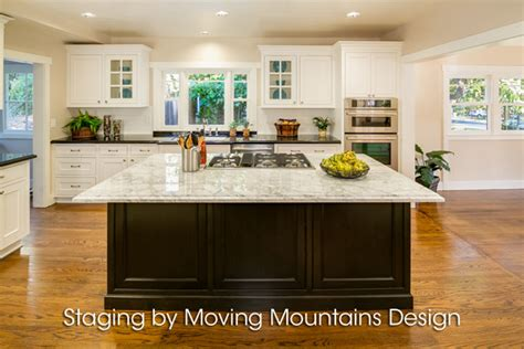 pasadena home staging kitchen moving mountains design