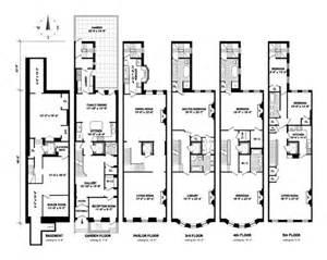 New York Brownstone Floor Plans by Brown Harris Stevens Luxury Residential Real Estate 9