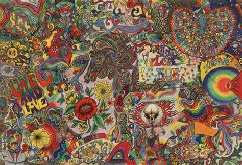 double mirror hippies art