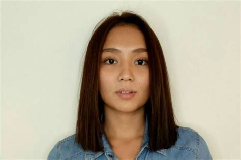 katrine bernardor hair color look kathryn bernardo sports new hairdo abs cbn news