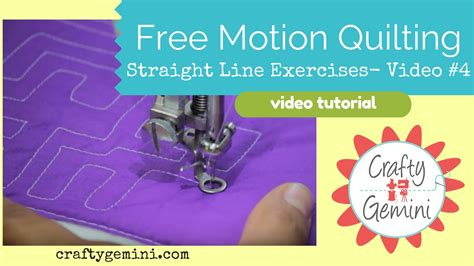 free motion quilting tutorial youtube free motion quilting tutorial series video 4 practice