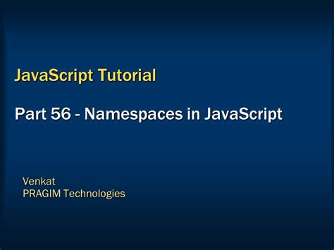 c tutorial namespace sql server net and c video tutorial namespaces in