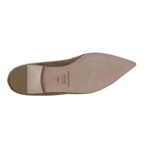fabric flat shoes borbonese fabric flat shoes with details applied