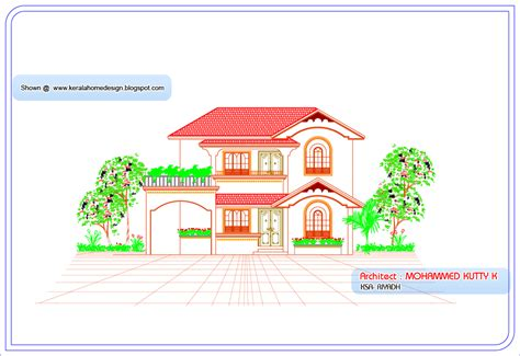 Kerala Home Design And Elevations july 2010 kerala home design and floor plans