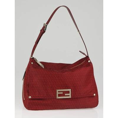 Fendi Mamma Shoulder Bag by Fendi Zucchino Mamma Shoulder Bag Yoogi S Closet
