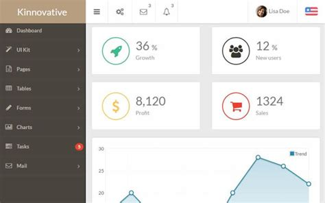 dashboard header design bootstrap angular js and html5 admin templates creative beacon