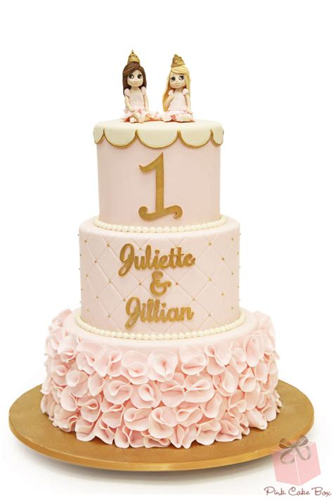 Princess Birthday Cake by Birthday Cakes 187 Pink Cake Box Custom Cakes More
