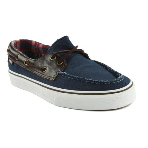 vans zapato barco shoes evo