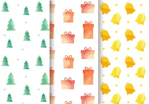 watercolor pattern download watercolor christmas pattern vector download free vector