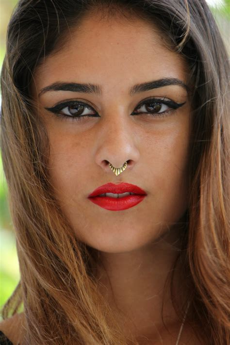 18 gauge tribal brass septum ring nose piercing 1mm for