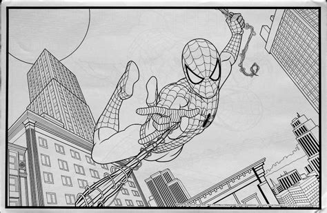 Crayola Giant Coloring Pages Ultimate Spider Man | spiderfan org comics spider man 18 giant coloring