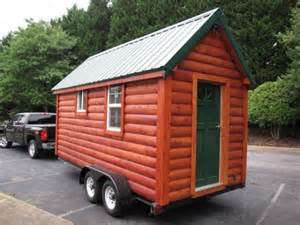 nc tiny log cabin on wheels for sale for 16k tiny