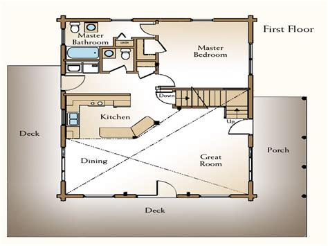 small log cabin floor plans with loft rustic log cabin