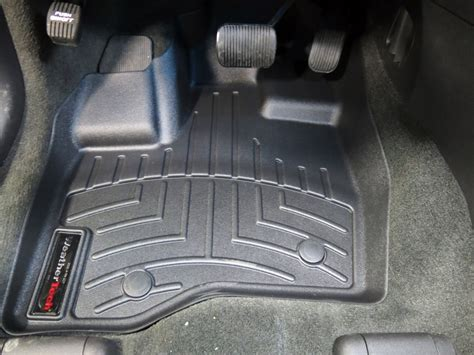 2013 ford explorer weathertech front auto floor mats black